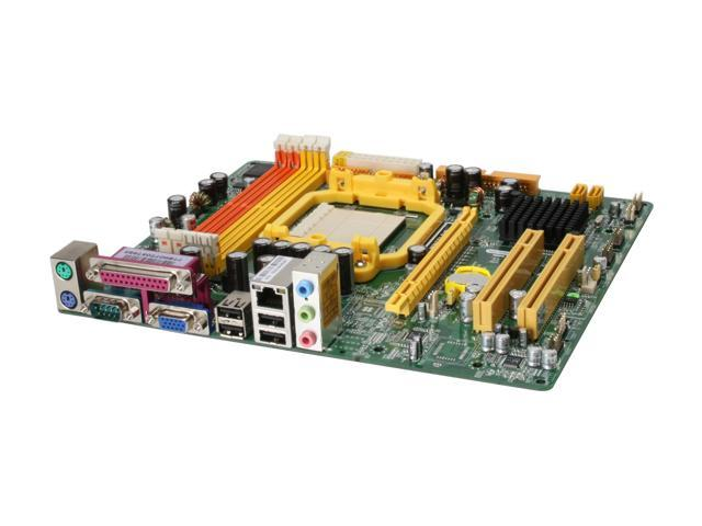 JetWay JM26GT3-SVP Micro ATX AMD Motherboard