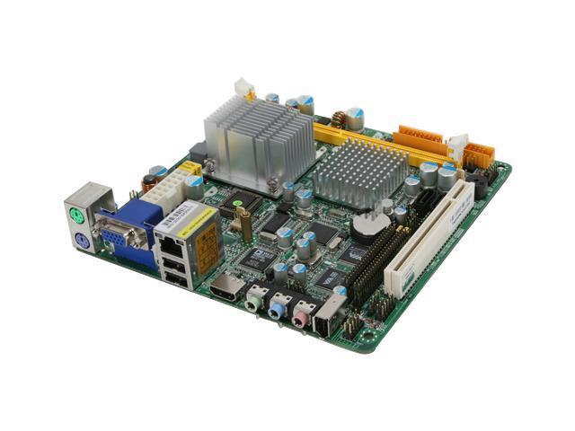 JetWay J7F5M1G2E-VHE-LF CX700M VIA CX700M Mini ITX Motherboard/CPU Combo