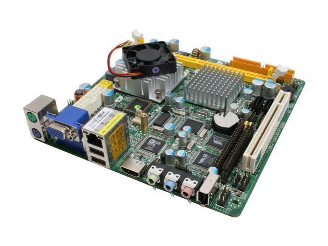 JetWay J7F5M2G-VHE-PB CX700M VIA CX700M Mini ITX Motherboard/CPU Combo
