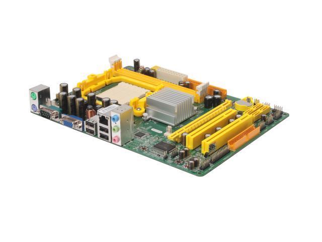 JetWay JM26GT4-LF Micro ATX AMD Motherboard