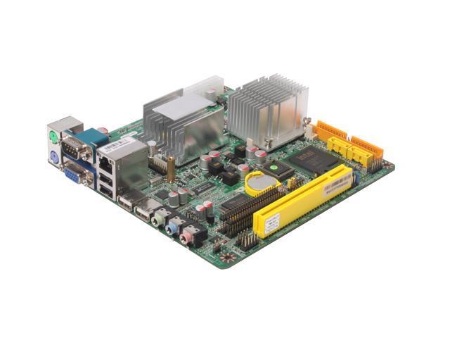 JetWay JNF91-600-LF Intel ULV Celeron M 600MHz Intel 910GMLE Mini ITX Motherboard/CPU Combo