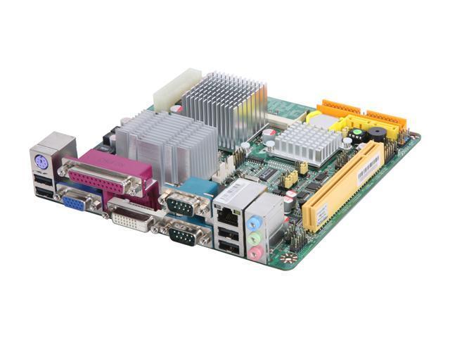 JetWay JNF94-270-LF Intel Atom N270 1.6GHz Intel 945GSE Mini ITX Motherboard/CPU Combo