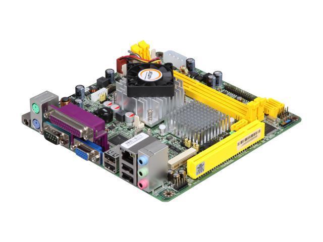 JetWay JNC96-510-LF Intel Atom D510 Intel NM10 Mini ITX Motherboard/CPU Combo