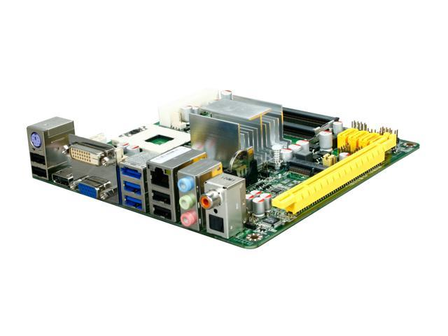 JetWay JNC64-LF Socket P NVIDIA MCP79MH single chipset HDMI Mini ITX Intel Motherboard