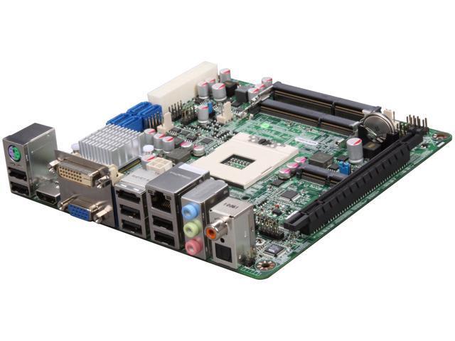 JetWay JNF98-QM57-LF Socket G (PGA 988) Intel QM57 HDMI Mini ITX Intel Motherboard