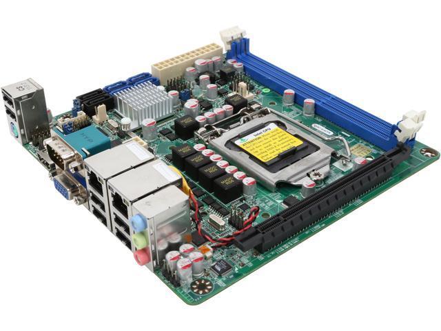 JetWay JNF9A-Q67 LGA 1155 Intel Q67 HDMI SATA 6Gb/s Mini ITX Intel Motherboard