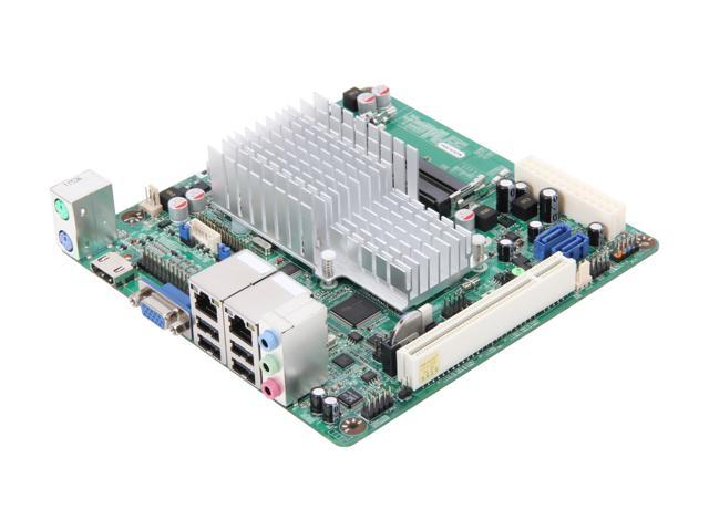 JetWay JNC9KDL-2700 Intel Atom D2700 (2.13GHz, Dual-Core) Intel NM10 Mini ITX Motherboard/CPU Combo