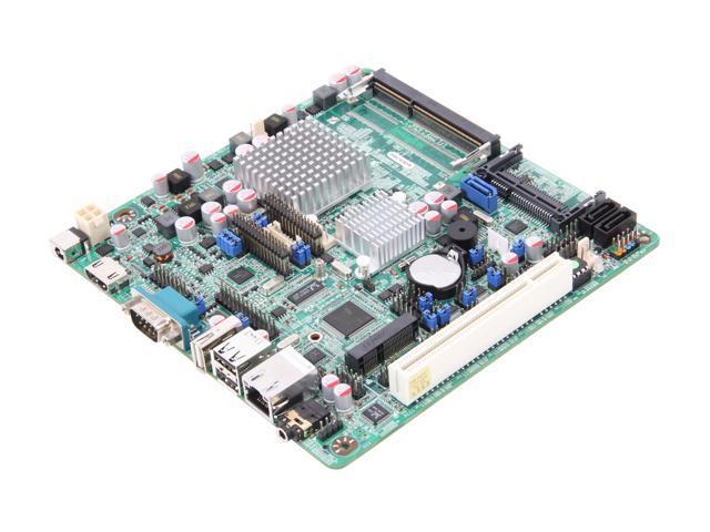 JetWay JNF9C-2600 Intel Atom N2600 (1.6GHz, Dual-Core) Mini ITX Motherboard/CPU Combo