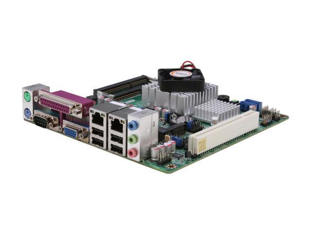 JetWay JNC9MGL-525 Intel Atom D525 (1.8GHz, Dual-Core) Intel NM10 Mini ITX Motherboard/CPU Combo