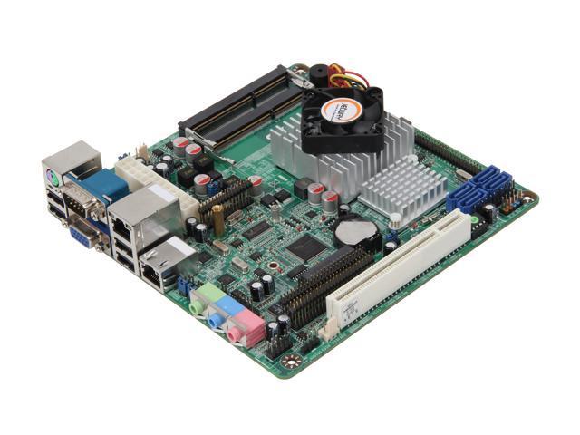 JetWay JNC9E-525 Intel Atom D525 (1.8GHz, dual core) Mini ITX Motherboard/CPU Combo