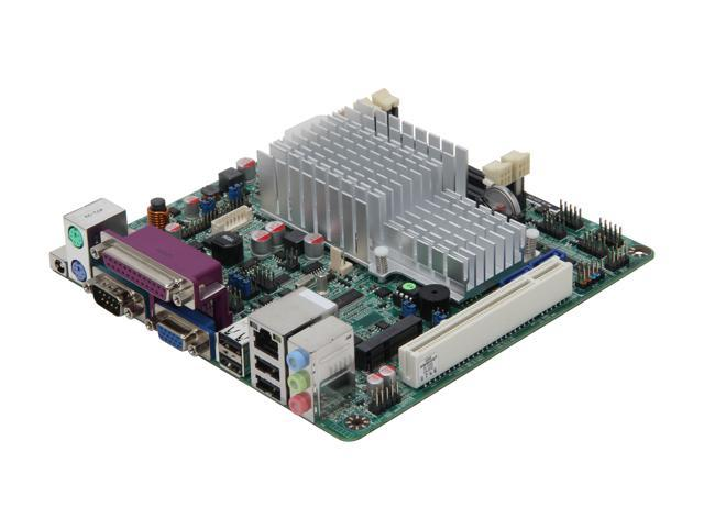 JetWay JNC9I-525 Intel Atom D525 (1.8GHz, Dual Core) Mini ITX Motherboard/CPU Combo