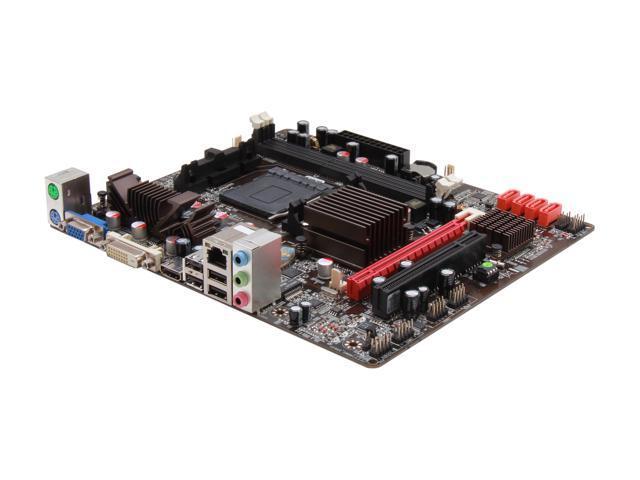 JetWay JTA98MG AM3+ AMD 880G HDMI Micro ATX AMD Motherboard