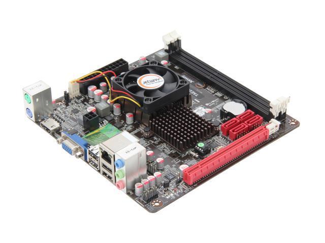 JetWay JTAE24G-ITX AMD E-240 APU @1.5GHz AMD Hudson D1 Mini ITX Motherboard/CPU Combo