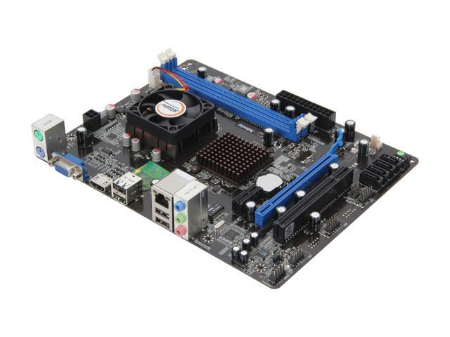 JetWay JTAE24M AMD E-240 APU @1.5GHz AMD Hudson D1 Micro ATX Motherboard/CPU Combo