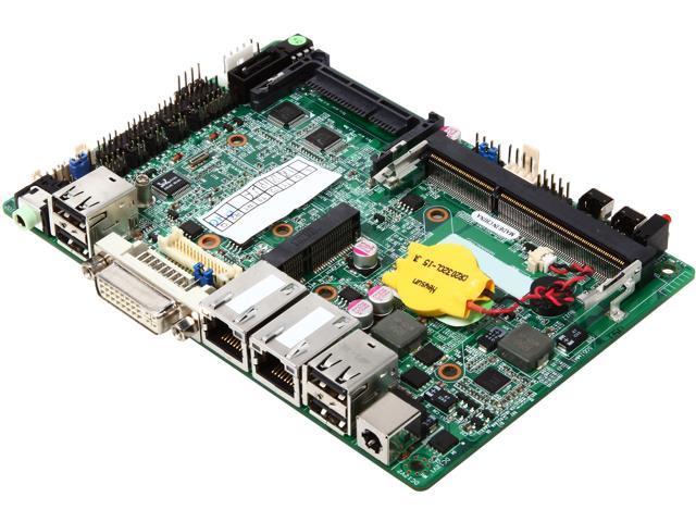 JetWay NC9NDL-2550 Intel Atom D2550 Intel NM10 Mini ITX Motherboard/CPU/VGA Combo