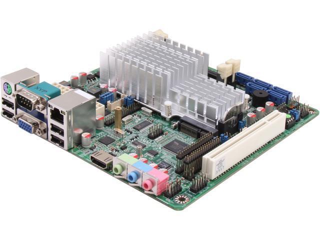 JetWay NF9I-2550 Intel Atom Dual Core D2550 1.86GHz Mini ITX Motherboard/CPU/VGA Combo