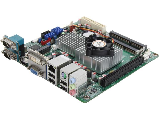 JetWay JNC9R-1037 Intel Celeron 1037U 1.8GHz Mini ITX Motherboard/CPU/VGA Combo