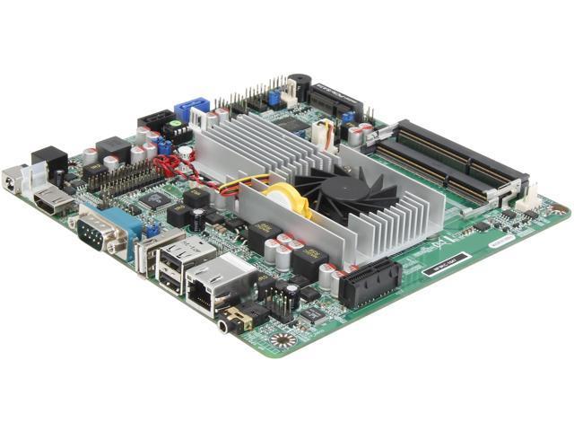 JetWay JNF9KC-1047 Intel Celeron 1047UE 1.40GHz BGA1023 Intel HM65 Thin Mini-ITX Motherboard/CPU/VGA Combo