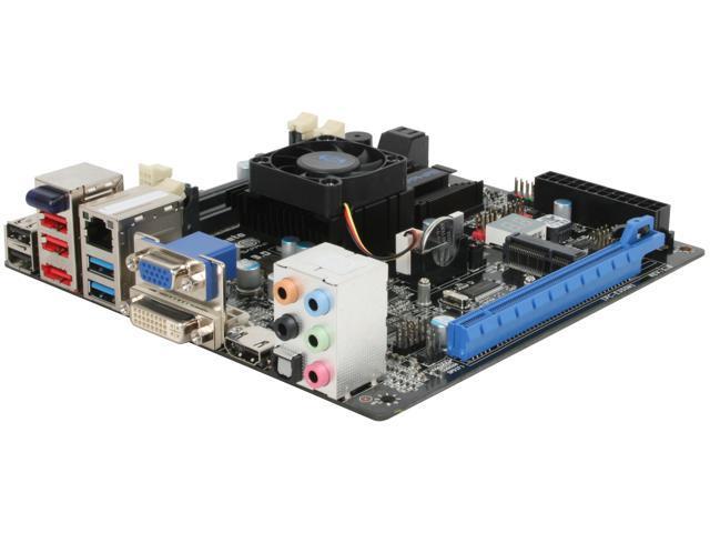 SAPPHIRE PURE Fusion Mini E350 AMD E-350 APU (1.6GHz, Dual-Core) Mini ITX Motherboard/CPU Combo