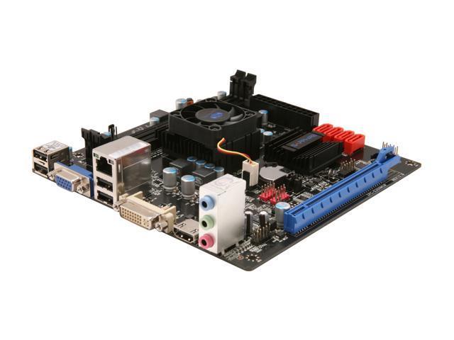 SAPPHIRE Pure White Fusion E350 AMD E-350 APU (1.6GHz, Dual-Core) Mini ITX Motherboard/CPU Combo