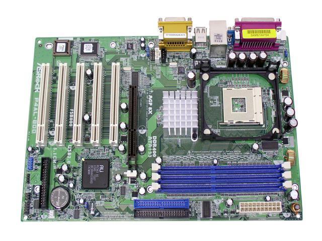 ASRock P4AL-800 478 VIA PT800 ATX Intel Motherboard
