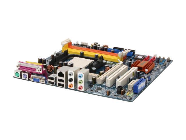 ASRock ALiveNF6G-DVI AM2 NVIDIA GeForce 6100 Micro ATX AMD Motherboard