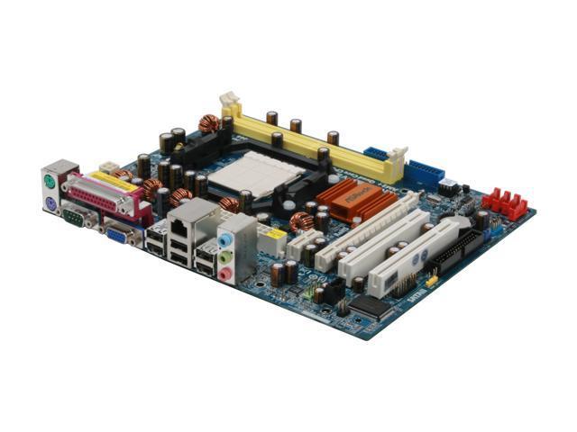 ASRock ALiveNF6P-VSTA AM2+/AM2 NVIDIA GeForce 6150SE / nForce 430 Micro ATX AMD Motherboard