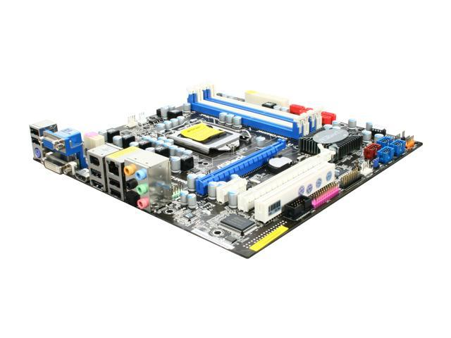 ASRock H55M Pro LGA 1156 Intel H55 HDMI Micro ATX Intel Motherboard