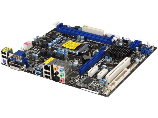 ASRock H67M (B3) LGA 1155 Intel H67 HDMI SATA 6Gb/s USB 3.0 Micro ATX Intel Motherboard