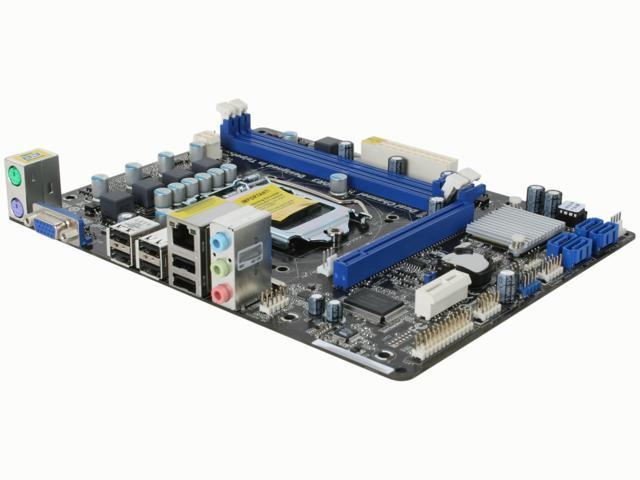 ASRock H61M-VS LGA 1155 Intel H61 Micro ATX Intel Motherboard