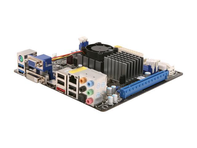 ASRock E350M1/USB3 AMD E-350 APU (1.6GHz, Dual-Core) AMD A50M Hudson M1 Mini ITX Motherboard/CPU Combo