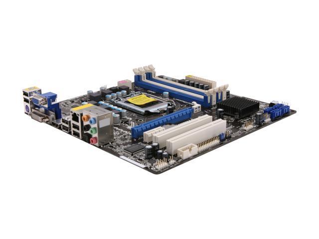 ASRock H61M-GE LGA 1155 Intel H61 HDMI Micro ATX Intel Motherboard