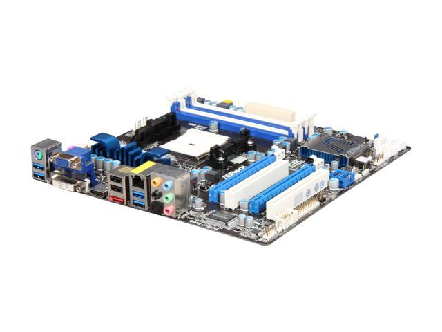 ASRock A75 PRO4-M Micro ATX AMD Motherboard with UEFI BIOS