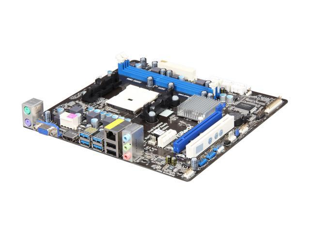 ASRock A75M-HVS FM1 AMD A75 (Hudson D3) SATA 6Gb/s USB 3.0 HDMI Micro ATX AMD Motherboard with UEFI BIOS