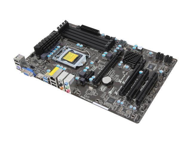 ASRock Z77 Pro3 LGA 1155 Intel Z77 HDMI SATA 6Gb/s USB 3.0 ATX Intel Motherboard