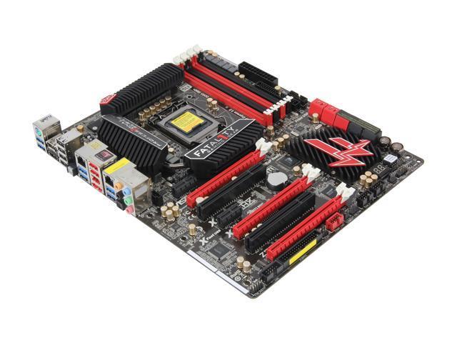 ASRock Z77 Fatal1ty Professional LGA 1155 Intel Z77 HDMI SATA 6Gb/s USB 3.0 ATX Intel Motherboard