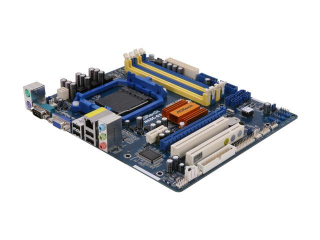 ASRock N68C-GS FX AM3+ NVIDIA GeForce 7025 / nForce 630a Micro ATX AMD Motherboard