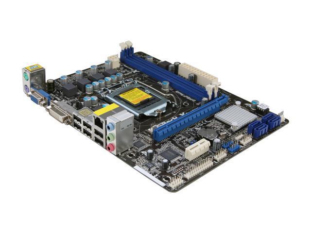 ASRock H61M-DGS LGA 1155 Intel H61 Micro ATX Intel Motherboard