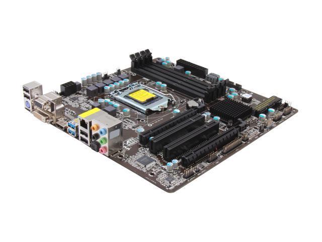 ASRock B75 PRO3-M LGA 1155 Intel B75 HDMI SATA 6Gb/s USB 3.0 Micro ATX Intel Motherboard
