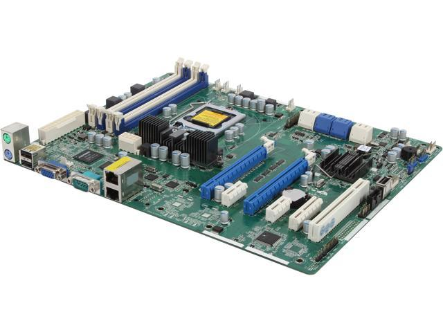 ASRock E3C204-V+ ATX Server Motherboard LGA 1155 Intel C204 DDR3 1600/1333/1066