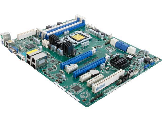 ASRock E3C204-V4L ATX Server Motherboard LGA 1155 Intel C204 DDR3 1600/1333/1066