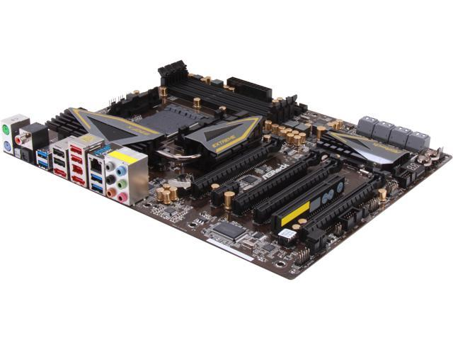 ASRock 990FX Extreme9 ATX AMD Motherboard with UEFI BIOS