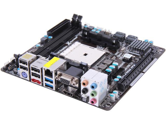 ASRock FM2A75M-ITX R2.0 Mini ITX AMD Motherboard