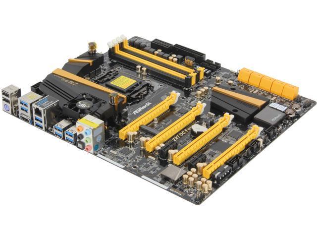 ASRock Z87 OC Formula LGA 1150 Intel Z87 HDMI SATA 6Gb/s USB 3.0 Extended ATX Intel Motherboard