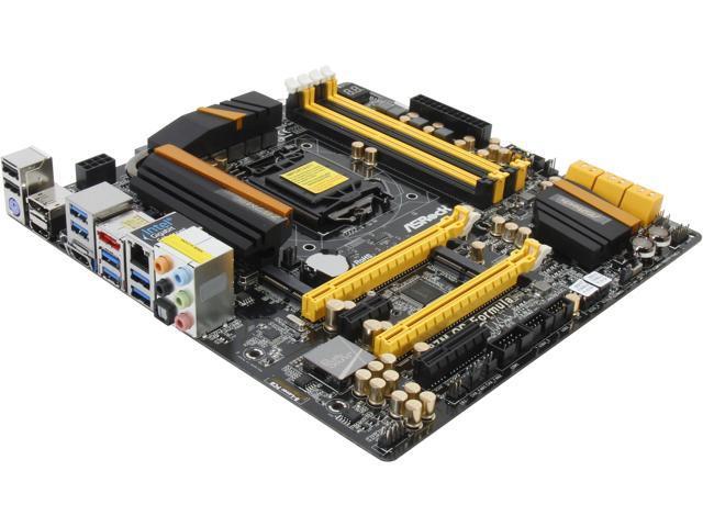 ASRock Z87M OC Formula LGA 1150 Intel Z87 HDMI SATA 6Gb/s USB 3.0 Micro ATX Intel Motherboard