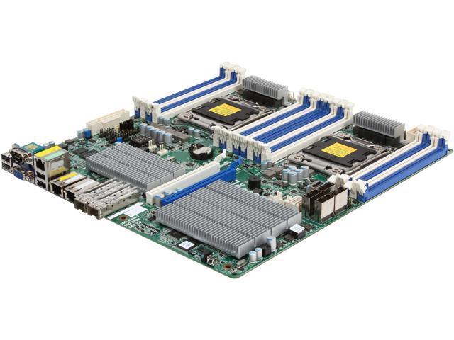 ASRock EP2C602-2T2OS6/D16 SSI EEB Server Motherboard Dual LGA 2011 DDR3 1600/1333/1066