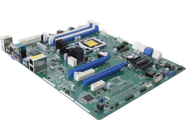ASRock E3C224-V+ ATX Server Motherboard LGA 1150 Intel C224 DDR3 1600/1333