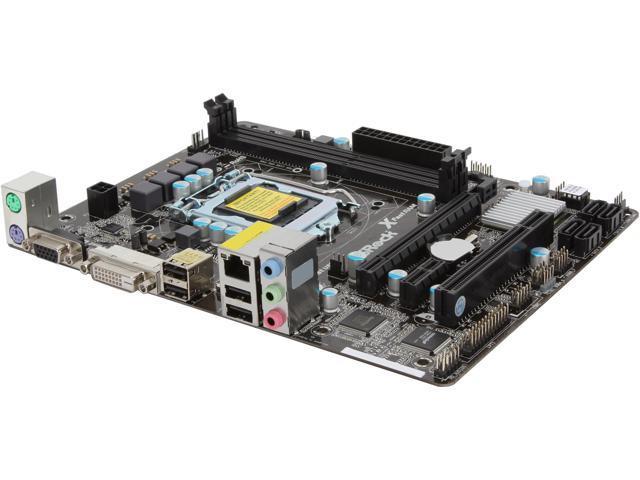 ASRock H61M-DP3/ASM LGA 1155 Intel H61 Micro ATX Intel Motherboard