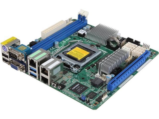 ASRock E3C226D2I Mini ITX Server Motherboard LGA 1150 Intel C226 DDR3 1600 / 1333 ECC DIMM