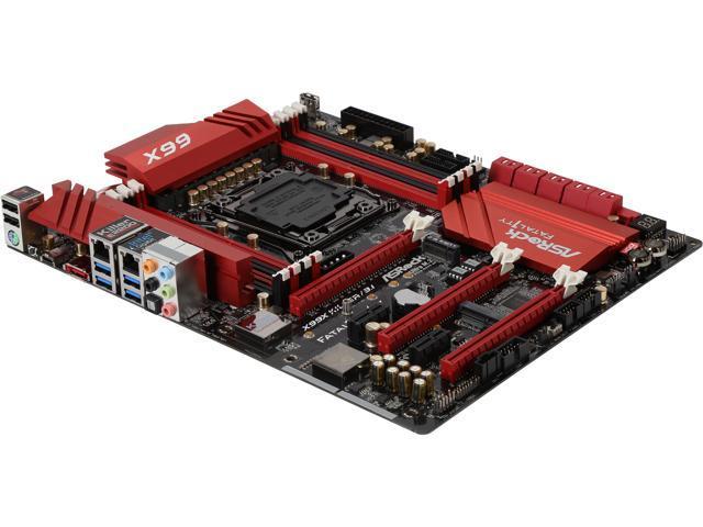 ASRock ASRock Fatal1ty Gaming Fatal1ty X99X Killer/3.1 LGA 2011-v3 Intel X99 SATA 6Gb/s USB 3.1 USB 3.0 ATX Intel Motherboard